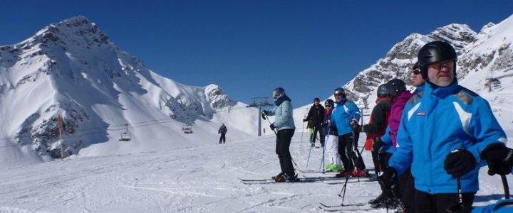 Eröffnungsfahrt nach Klosters am 13. Dezember 2014