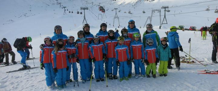 Saisoneröffnung der Fördergruppe auf dem Stubaier Gletscher