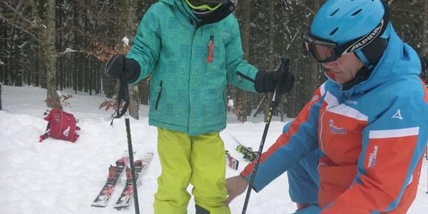 Skiservice beim Skiclub Öflingen
