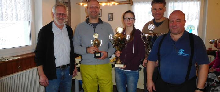 Milena Kaiser und Ralf Glatthar Wehrer Stadtmeister Ski Alpin, Roman Bohnet Snowboard-Sieger